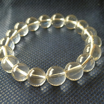 ヒマラヤ水晶ブレスレット透明水晶106