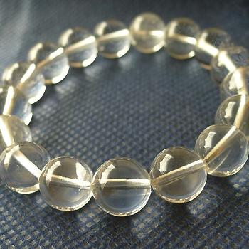 ヒマラヤ水晶ブレスレット透明水晶107