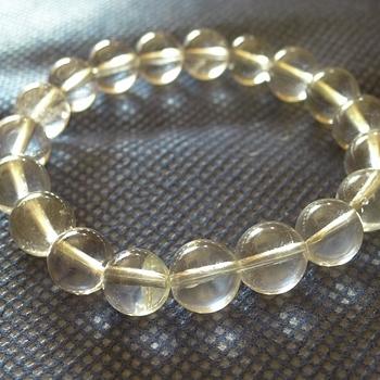 ヒマラヤ水晶ブレスレット透明水晶113