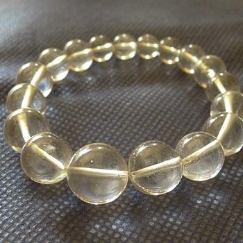 ヒマラヤ水晶ブレスレット透明水晶115