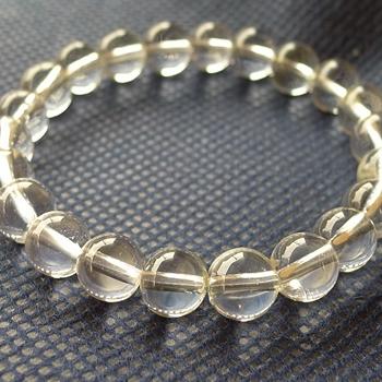 ヒマラヤ水晶ブレスレット透明水晶118