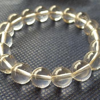 ヒマラヤ水晶ブレスレット透明水晶119