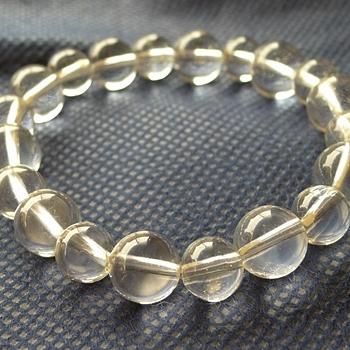 ヒマラヤ水晶ブレスレット透明水晶120