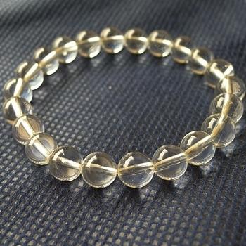 ヒマラヤ水晶ブレスレット透明水晶121