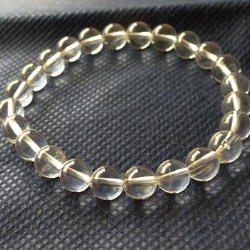 ヒマラヤ水晶ブレスレット透明水晶122