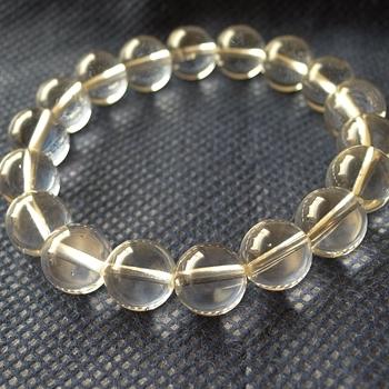 ヒマラヤ水晶ブレスレット透明水晶124