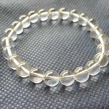 ヒマラヤ水晶ブレスレット透明水晶126