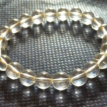 ヒマラヤ水晶ブレスレット透明水晶129