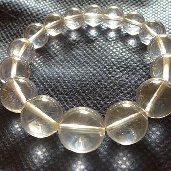 ヒマラヤ水晶ブレスレット透明水晶132