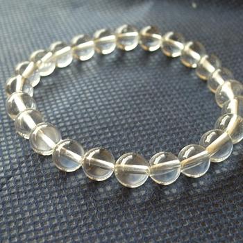 ヒマラヤ水晶ブレスレット透明水晶134