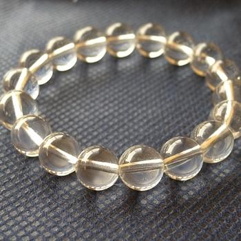 ヒマラヤ水晶ブレスレット透明水晶135