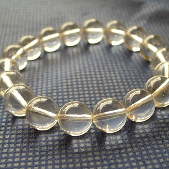 ヒマラヤ水晶ブレスレット透明水晶139