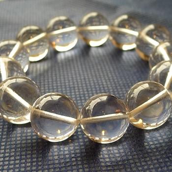 ヒマラヤ水晶ブレスレット透明水晶140