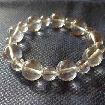 ヒマラヤ水晶ブレスレット透明水晶144