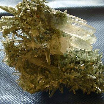 ヒマラヤ水晶原石緑泥石入り029