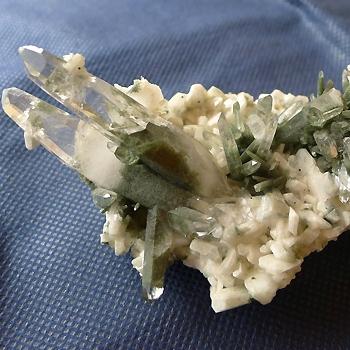 ヒマラヤ水晶原石緑泥石入り034