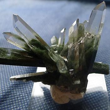 ヒマラヤ水晶原石緑泥石入り038