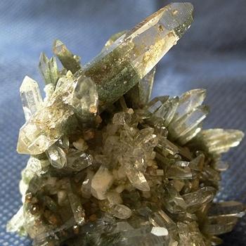 ヒマラヤ水晶原石緑泥石入り048