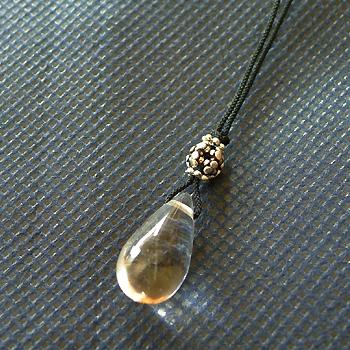ヒマラヤ水晶紐付きチョーカー017