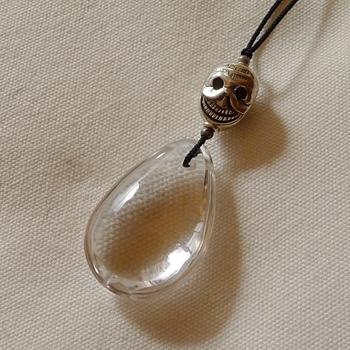 ヒマラヤ水晶紐付きチョーカー透明水晶033