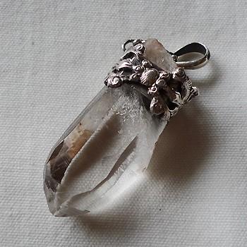 ヒマラヤ水晶ペンダントミラー水晶008