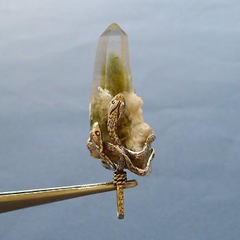 ヒマラヤ水晶ペンダントお勧め水晶038