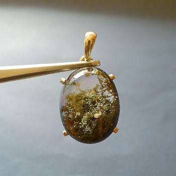 ヒマラヤ水晶ペンダント緑泥石入り037