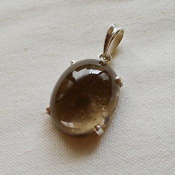 ヒマラヤ水晶ペンダントスモーキー013
