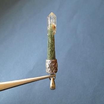 ヒマラヤ水晶ペンダント特殊形状024