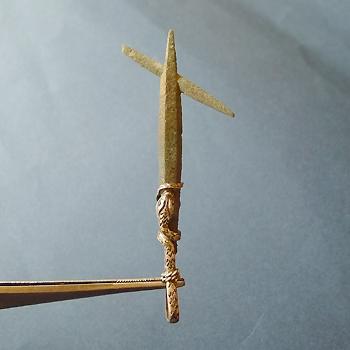 ヒマラヤ水晶ペンダント特殊形状030