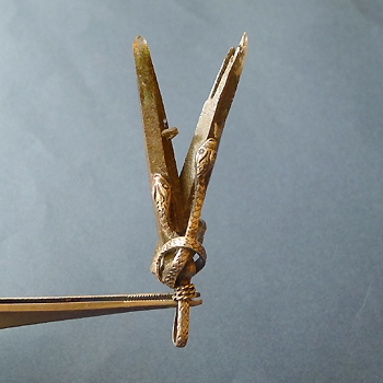ヒマラヤ水晶ペンダント特殊形状032