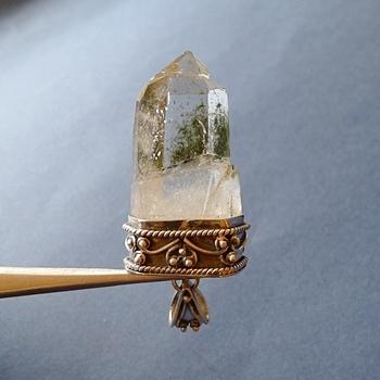 ヒマラヤ水晶ペンダント特殊形状037