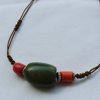 チベットトルコ石チョーカータイプ002
