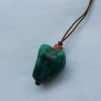 チベットトルコ石チョーカータイプ003