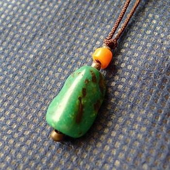 チベットトルコ石チョーカータイプ031