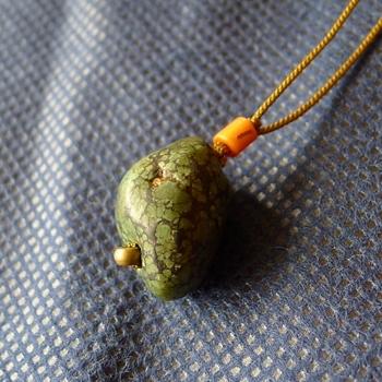 チベットトルコ石チョーカー034
