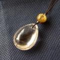 ヒマラヤ水晶紐付チョーカー透明水晶039