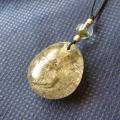 ヒマラヤ水晶紐付チョーカー内包物入り046